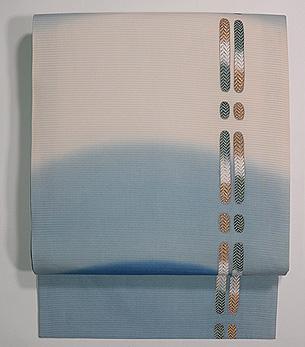 御簾の飾り紐の夏帯