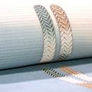 御簾の飾り紐の夏帯 質感・風合