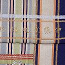 龍村平蔵製「伊藤間道梅鉢手」袋帯 織り出し