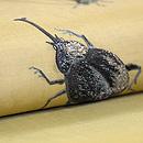 虫の刺繍帯 質感・風合