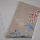 大輪菊の刺繍名古屋帯 帯裏