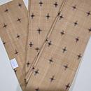 芭蕉布絣柄の半幅帯 帯裏