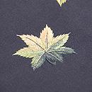 紅葉散らし刺繍の名古屋帯 質感・風合