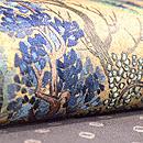 絞りに深山の刺繍名古屋帯 質感・風合