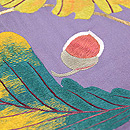 どんぐりの刺繍名古屋帯 質感・風合