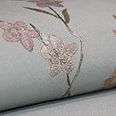 満月に桜刺繍帯 質感・風合