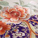 蹴鞠に八重桜刺繍名古屋帯 質感・風合