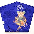 くす玉の刺繍名古屋帯 帯裏