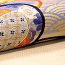 楽器の刺繍名古屋帯 質感・風合