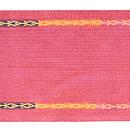 インドネシア・経縞紋織り名古屋帯 前中心
