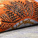 源氏香に松の袋帯  質感・風合