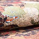 唐獅子牡丹の袋帯 質感・風合