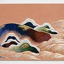 須磨の浦刺繍名古屋帯 前中心