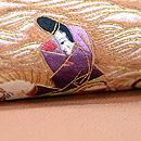 須磨の浦刺繍名古屋帯 質感・風合