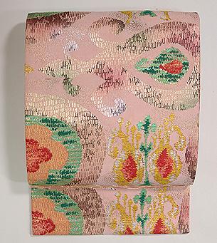 ペルシャ錦風織りの名古屋帯