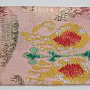 ペルシャ錦風織りの名古屋帯 前中心