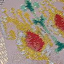 ペルシャ錦風織りの名古屋帯 質感・風合
