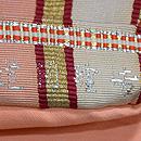 龍村製吉野間道手袋帯 織り出し
