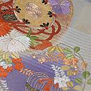 花丸紋様紗の袋帯 質感・風合