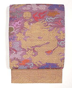 朝服崩し紗の袋帯