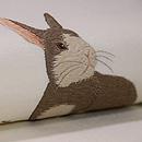 ウサギとクローバー名古屋帯 質感・風合
