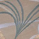 ススキの図唐織袋帯 質感・風合