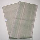 柳茶の縞袋帯 帯裏