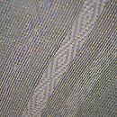 柳茶の縞袋帯 質感・風合
