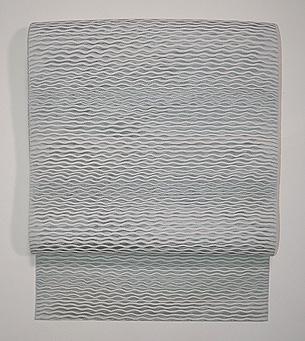 波紋の羅織名古屋帯