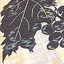 ぶどうの刺繍夏帯 質感・風合
