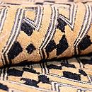 アフリカ・ラフィアの名古屋帯 質感・風合