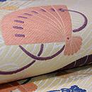 波紋に檜扇袋帯 質感・風合