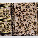 インドネシア金更紗の名古屋帯 質感・風合
