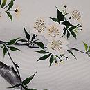 枝桜の図手描き名古屋帯 質感・風合