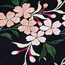 桜の寄せ切れ名古屋帯 質感・風合