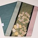 四季の花々丸紋刺繍名古屋帯 帯裏