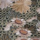 四季の花々丸紋刺繍名古屋帯 質感・風合