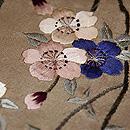 枝垂桜に御籤名古屋帯 質感・風合
