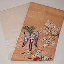 野の四季花々刺繍名古屋帯 帯裏