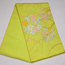 たつむら製 「秋草花の丸」袋帯 帯裏