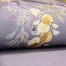 藤棚の刺繍名古屋帯 質感・風合
