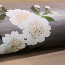 桜染名古屋帯 質感・風合