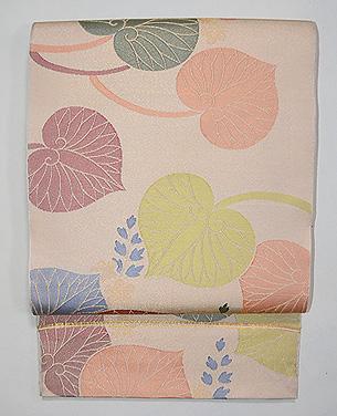 葵文様袋帯