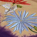 雲紋暈しに菊の刺繍付下 質感・風合