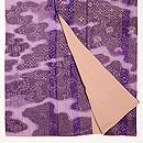 紫雲取りぼかしに刺繍お散歩着 上前