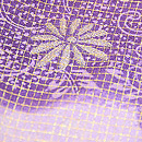 紫雲取りぼかしに刺繍お散歩着 質感・風合