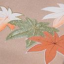 花籠に蝶の訪問着 質感・風合