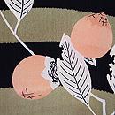 横段に筆柿の羽織 質感・風合