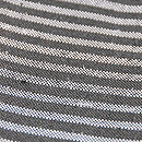 横縞の単衣ざざんざ織り こうげい扱い 質感・風合