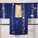 疋田と石畳に双葉葵の絵羽織 正面
